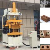 Hydraulischer Lehm Lego Block, der maschinelle Herstellung-Zeile bildet
