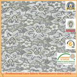 Fabbricato di nylon del merletto del cotone della Cina della Parte superiore-Un