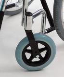 """Sedia a rotelle manuale d'acciaio, """" rotella dello Spoke 20 (YJ-BL07D)"""