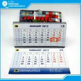 熱い販売の印刷の3ヶ月の2016壁掛けカレンダー