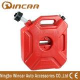 5L de hoge Tank van de Benzine van de Hardnekkigheid Plastic