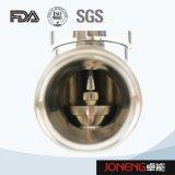 ステンレス鋼の空気の流れの転換の二重シート弁(JN-FDV1003)
