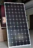 Горячая панель солнечных батарей Mono кристаллическое 100W UL 156*156mm Ce TUV