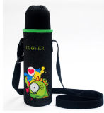La coutume chaude durable de ventes isolent le refroidisseur de bouteille avec l'épaule