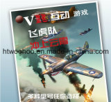 9d Vr Interactive Game Flying Shooting Game Equipment in un Plane Mold