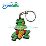 Kundenspezifisches weiches Schlüssel-Set Belüftung-Keychains 2D geformtes weiches Belüftung-Keychain