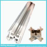 공장 양극 처리를 가진 경쟁적인 모양 LED 알루미늄 단면도 열 싱크