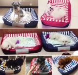 공상에 의하여 채워지는 새로운 디자인 연약한 개 견면 벨벳 애완 동물 집