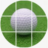 Haltbare Plastikpraxis-Höhlung-InnenGolfball-Höhlung-Golf-Trainings-Kugeln