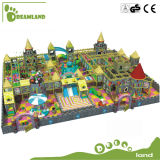 Campo giochi dell'interno del gioco del centro dei bambini della strumentazione molle dell'interno dell'interno del campo da giuoco