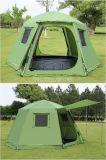 6-8 tenda della persona, tenda di campeggio di alluminio del Palo di stirata esterna di esagono