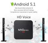PRO Amlogic S905 boîtier décodeur intelligent de cadre de l'Internet TV de Bluetooth 4.0 3D 4K IPTV Ott de l'androïde 6.0 de Mxq