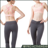 OEMは女性のカスタムセクシーなヨガのスポーツのブラの体操の衣類を整備する