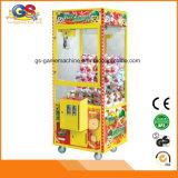 Máquina expendedora de arcada del juguete de fichas del juego