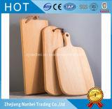 Tarjetas de corte de categoría alimenticia de encargo de madera de haya