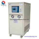 refrigerador de refrigeração água do rolo de 5ton 18kw para o procedimento de fabricação da bebida do leite