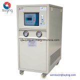 5ton 18kw 우유 음료 만드는 프로세스를 위한 물에 의하여 냉각되는 일폭 냉각장치