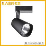 luz de la pista de 12W LED con final negro y alto lumen para el lugar comercial