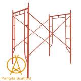Andamio tubular/del masón del marco, andamio del marco de Manson de la escala