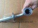 Válvula de escape de pressão sanitária do ar de 11/2in Triclamp Spunding para o fermentador
