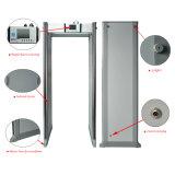 24 прогулки зон через строб детектора металла использования двери
