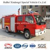 Camion de lutte contre l'incendie de Dongfeng 3ton avec l'appareil-photo