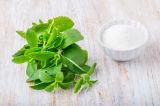 Het natuurlijke KruidenUittreksel Stevia van het Zoetmiddel Stevia