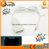 Punta de prueba convexa linear del ultrasonido del USB del Ce