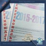 Certificado de papel de la impresión de la seguridad de la filigrana