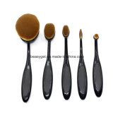 Oval Toothbrush Style Synthetic Powder Foundation Cream Makeup Brush (5 Pieces) Esg10234