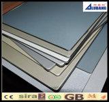El panel compuesto de la hoja de aluminio de China para el revestimiento
