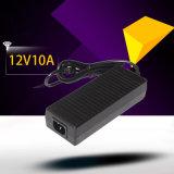 adaptador verdadero del cuaderno del adaptador de la CA de la conmutación de la potencia de 12V 10A 120W