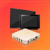 Le meilleur boîtier décodeur intelligent de vente de cadre de l'Internet TV de l'androïde 6.0 Rk3229 3D 4K IPTV Ott de l'or A96
