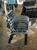 Piedini del banco del metallo dell'OEM con il piedino del giardino del pezzo fuso del ferro