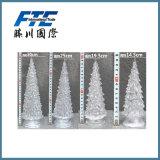 Arbre de décoration de Noël de la fibre optique DEL