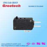 Micro interruptor impermeável selado básico usado no aparelho electrodoméstico