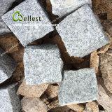 Pietra per lastricati del granito G603 della strada privata grigio-chiaro del Cobblestone