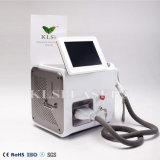 Laser portatile domestico del diodo della macchina 808nm di rimozione dei capelli di Klsi con 20 milione garanzie dei colpi