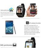 Apro Smartwatch Bluetooth intelligente Uhr für Kamera der Samsung-Galaxie-Gang-der UnterstützungsSIM TF Karten-SMS NFC 1.3m