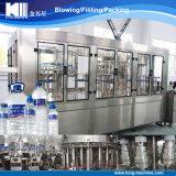 Terminar a linha de produção da água mineral