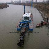 川で使用される高品質のカッターの吸引の浚渫船