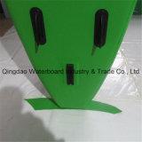 Scheda di spuma gonfiabile della pala del rilievo dei pesci di colore verde di disegno antisdrucciolevole di modo