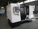 Máquina del CNC de la reparación del eje de rueda de Ck6187W de Haishu
