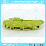 완두 모양 4 운반 USB 허브 2.0 (ZYF4237)