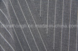 Tela listrada de trama do estiramento T/R, 65%Polyester 33%Rayon 2%Spandex, 250GSM
