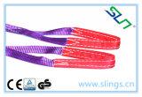 Imbracature duplex 100% del poliestere della fibra sintetica
