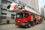 空気のプラットホームの普通消防車、火のはしご車
