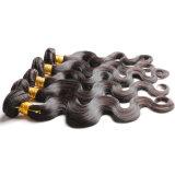 Weave brasileiro do cabelo do Virgin barato 2 pacotes da onda brasileira 100g do corpo do cabelo do Virgin da classe brasileira dos pacotes 7A do cabelo humano da onda do corpo