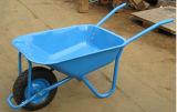 Carrello di giardino giallo del carrello dell'utensile manuale della carriola della rotella Wb5009 1