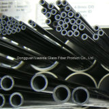 Alto tubo de la fibra del carbón de la tenacidad, tubo de la fibra del carbón/poste